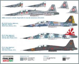 F-5 F Tiger ll  (Vista 3)