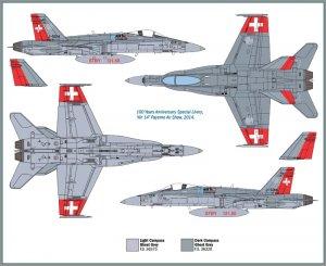 F/A 18 Swiss Air Force  (Vista 3)