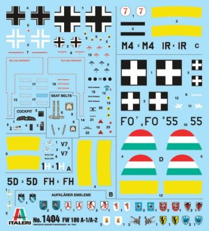 FW 189 A-1/A-2  (Vista 2)