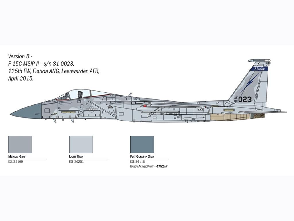 F-15 Eagle  (Vista 4)