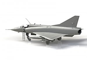 Mirage IIIC  (Vista 3)