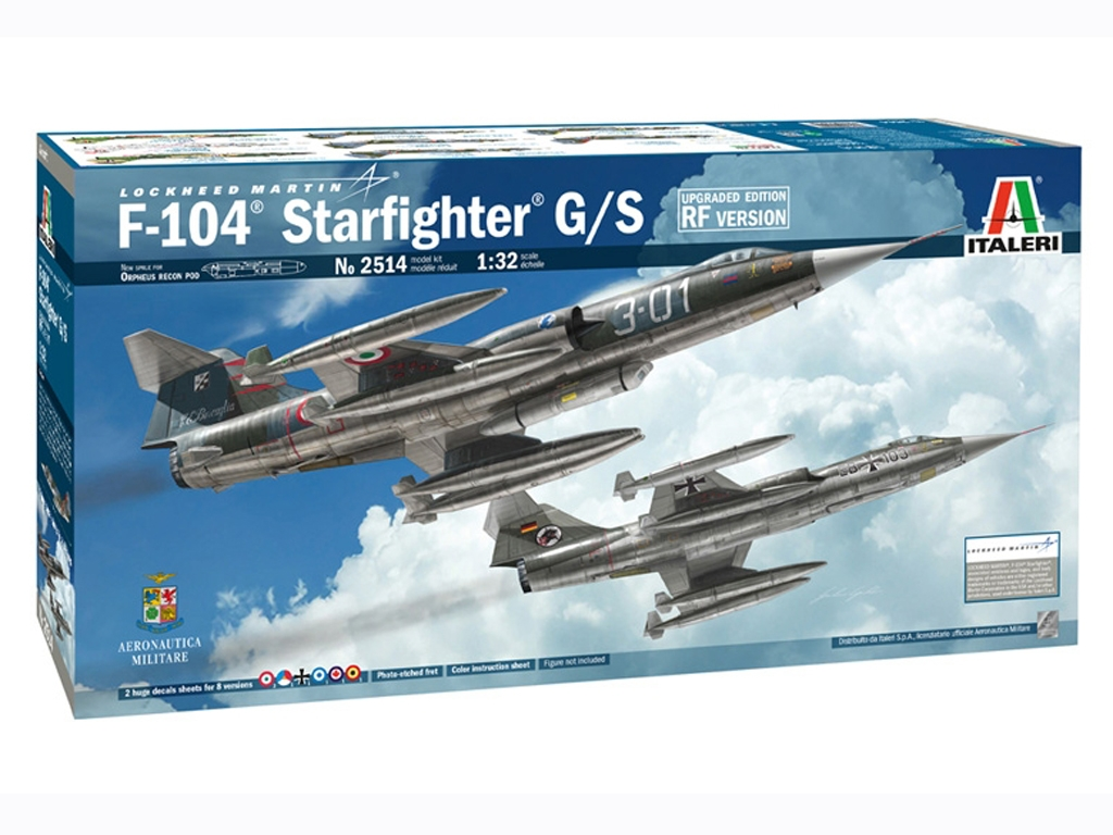 F-104 STARFIGHTER G/S - Upgraded Edition  (Vista 1)