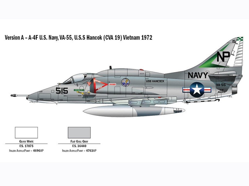 A-4E/F Skyhawk  (Vista 3)