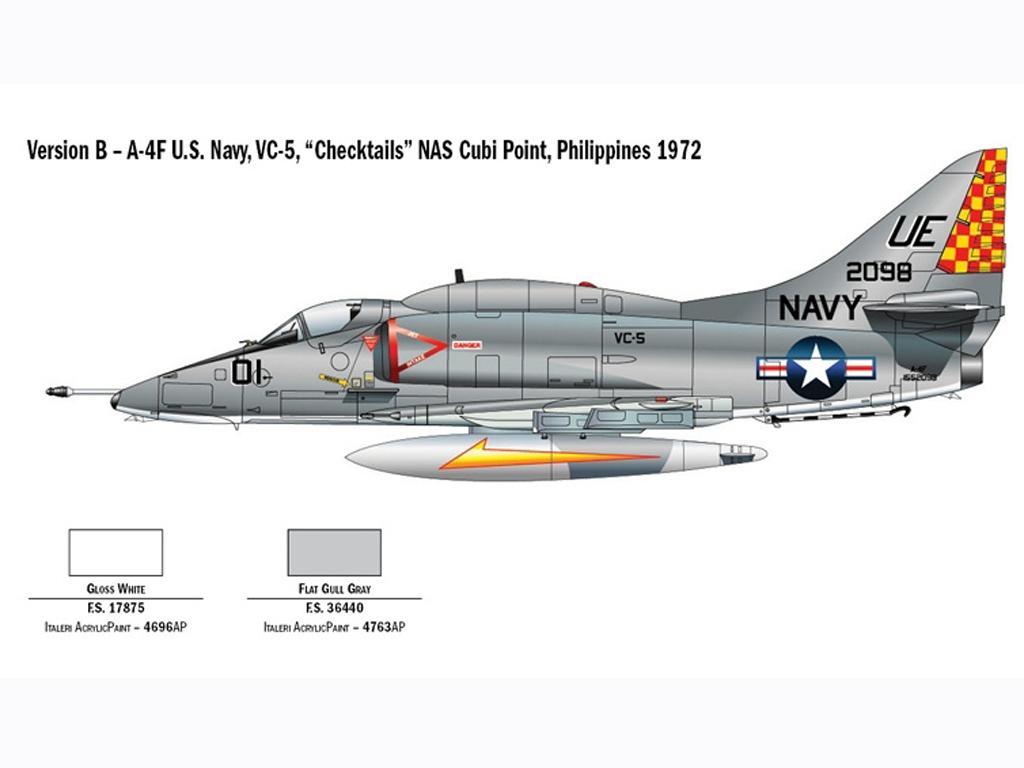 A-4E/F Skyhawk  (Vista 4)