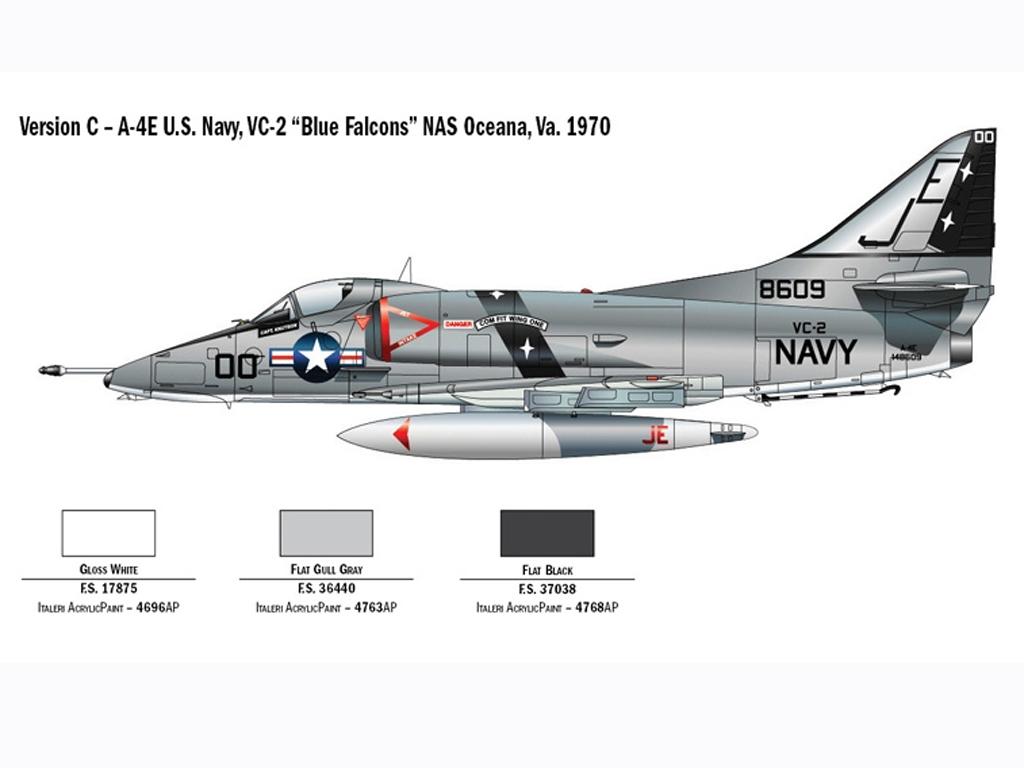 A-4E/F Skyhawk  (Vista 5)