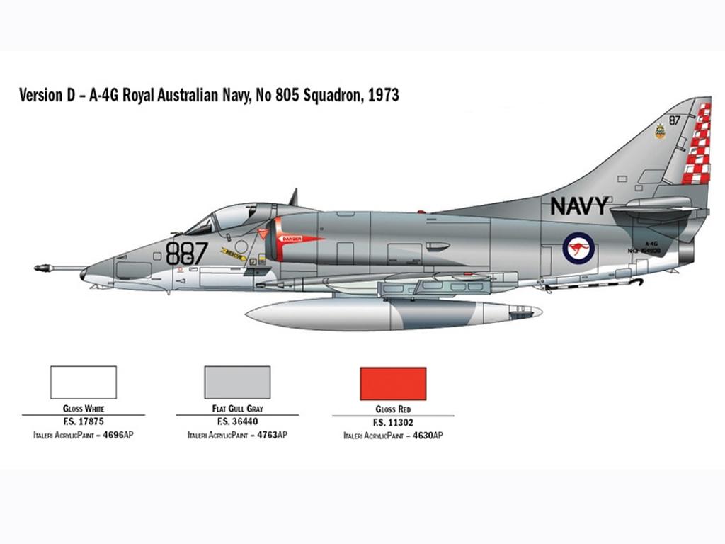 A-4E/F Skyhawk  (Vista 6)