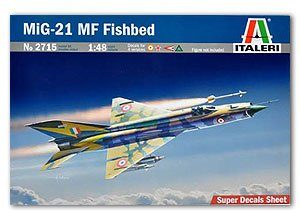 Mig-21 MF Fishbed  (Vista 1)