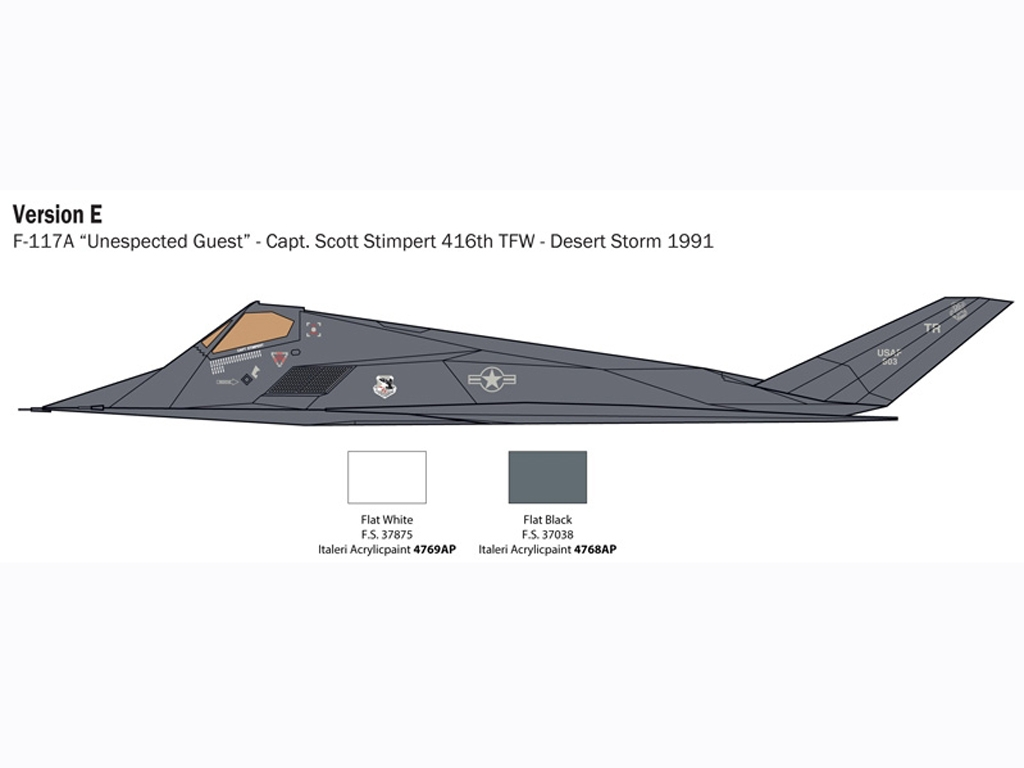 F-117 A Nighthawk  (Vista 7)