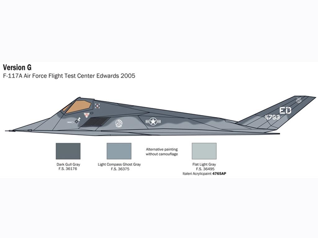 F-117 A Nighthawk  (Vista 9)