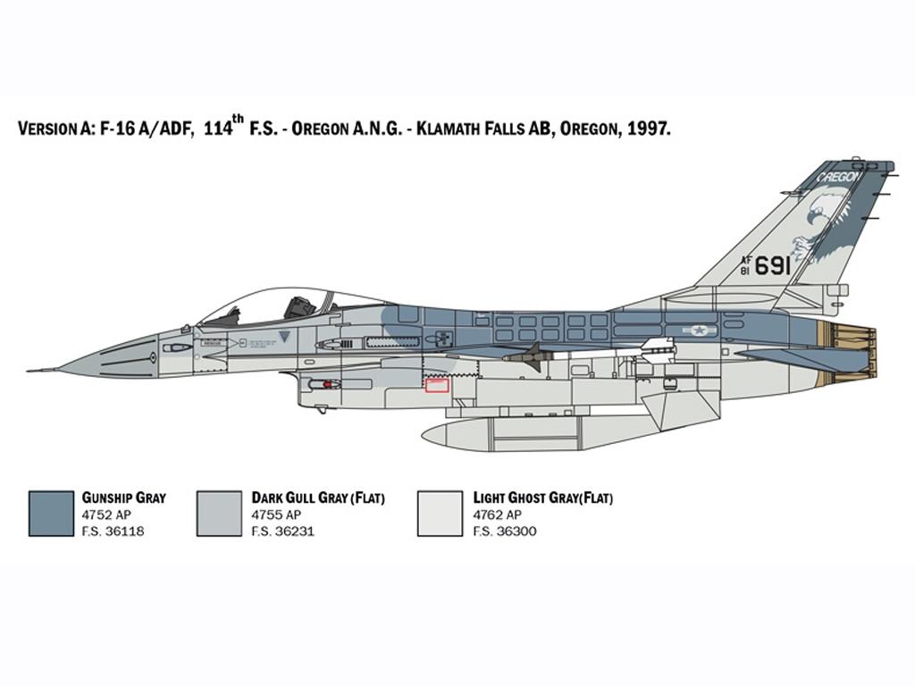 F-16 A Fighting Falcon  (Vista 3)