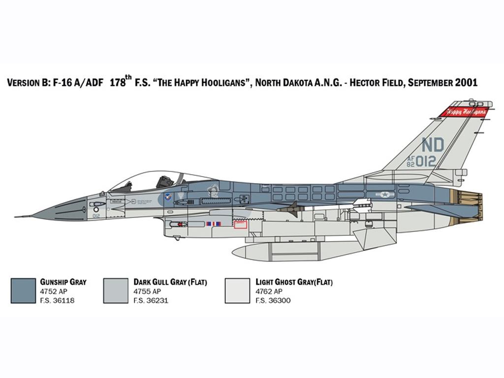 F-16 A Fighting Falcon  (Vista 4)