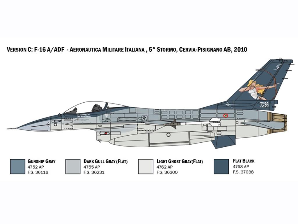 F-16 A Fighting Falcon  (Vista 5)