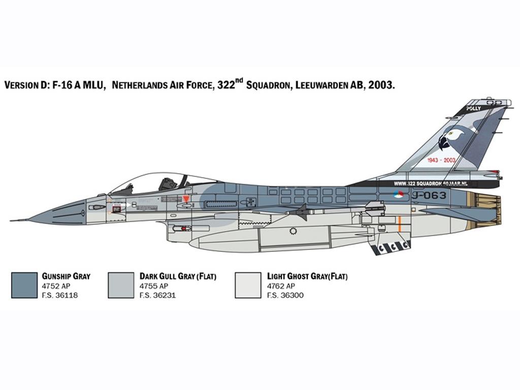F-16 A Fighting Falcon  (Vista 6)