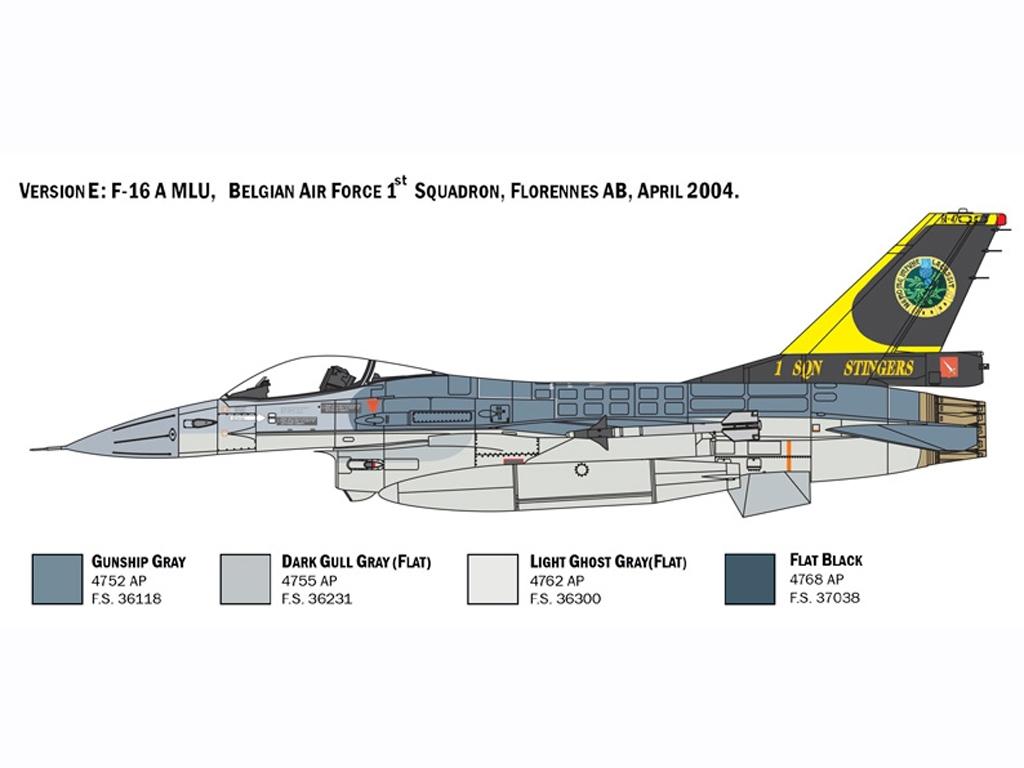 F-16 A Fighting Falcon  (Vista 7)
