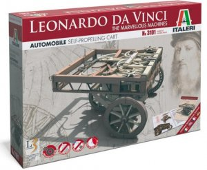 Carro autopropulsado, Leonardo Da Vinci  (Vista 1)