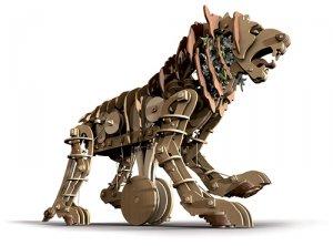 Leon mecanico  (Vista 3)