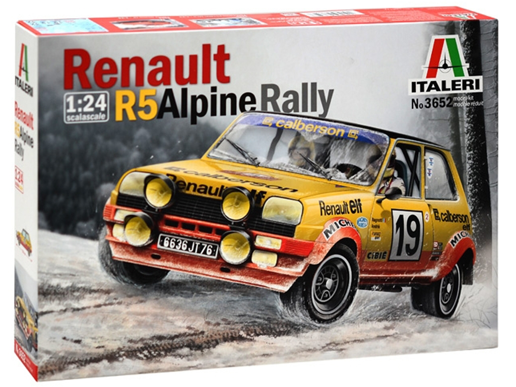 Renault R5 Alpine Rally  (Vista 1)