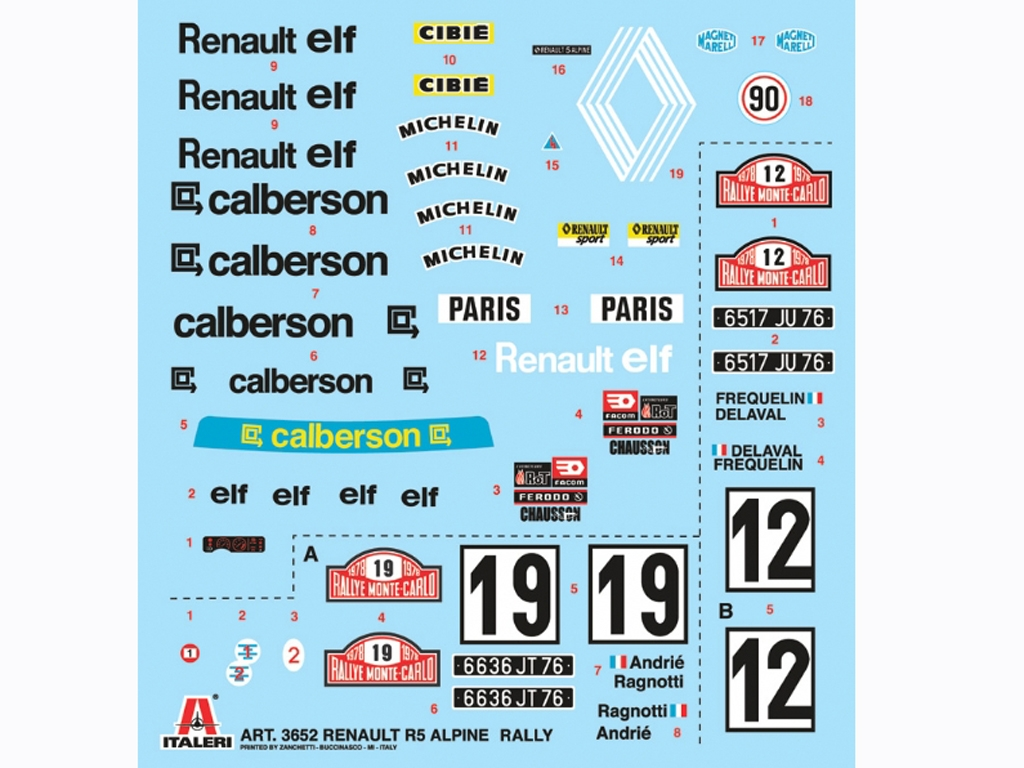 Renault R5 Alpine Rally  (Vista 2)