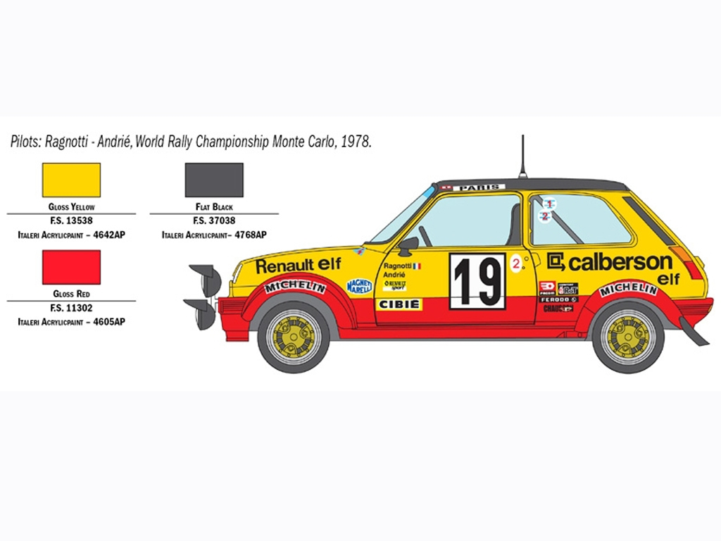 Renault R5 Alpine Rally  (Vista 3)