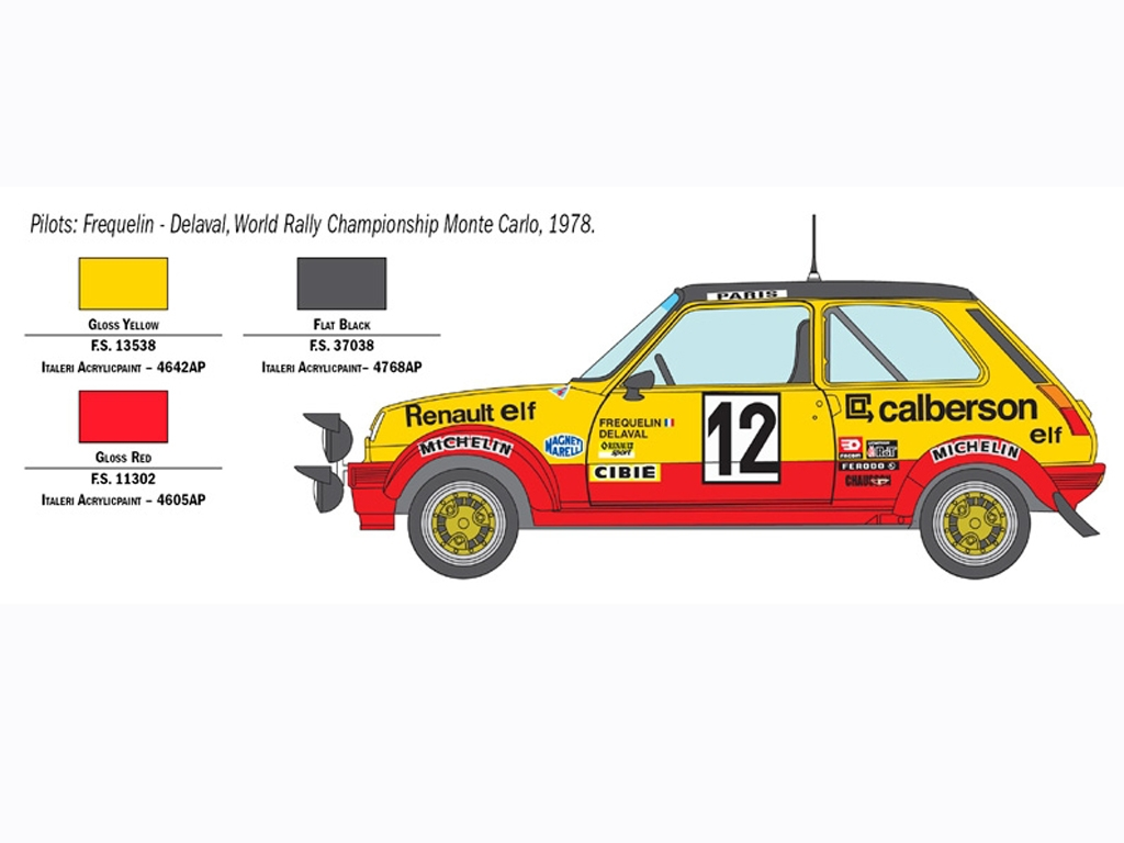 Renault R5 Alpine Rally  (Vista 4)