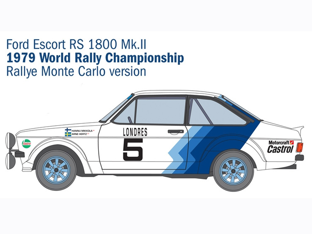 Ford Escort RS1800 Mk.II  (Vista 3)