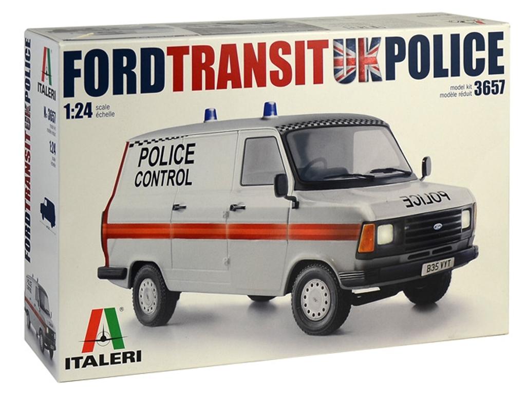 Ford Transit UK Police  (Vista 1)