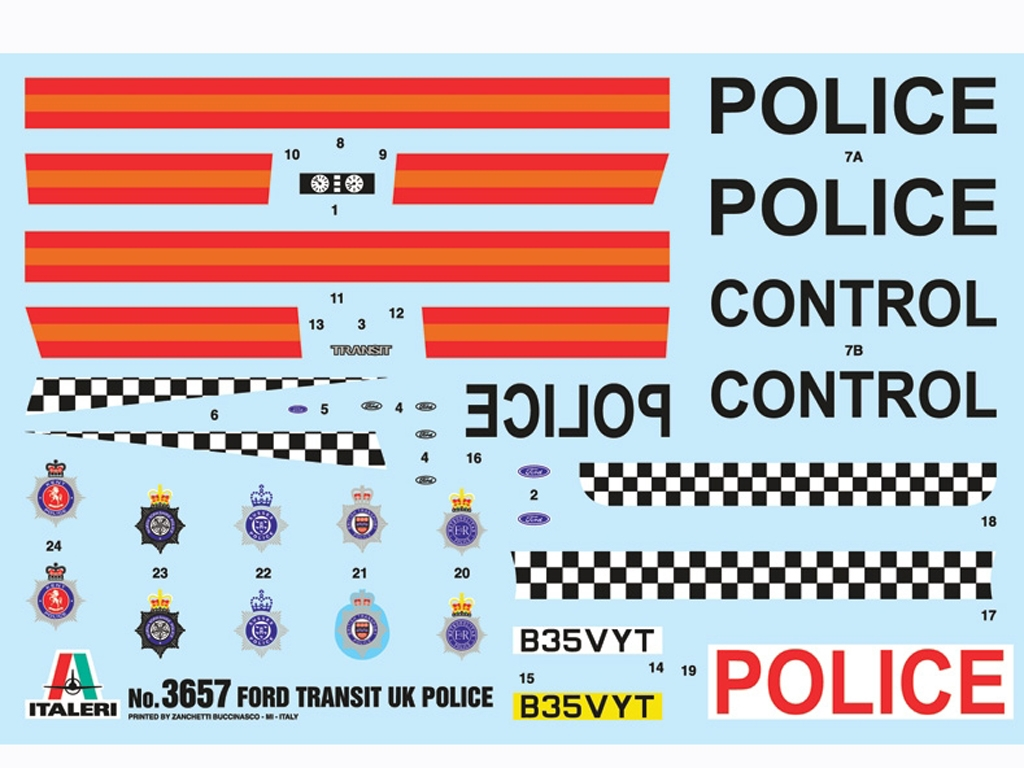 Ford Transit UK Police  (Vista 4)
