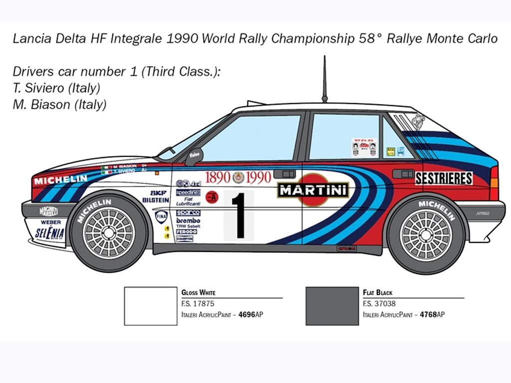 Lancia Delta HF Integrale  (Vista 3)
