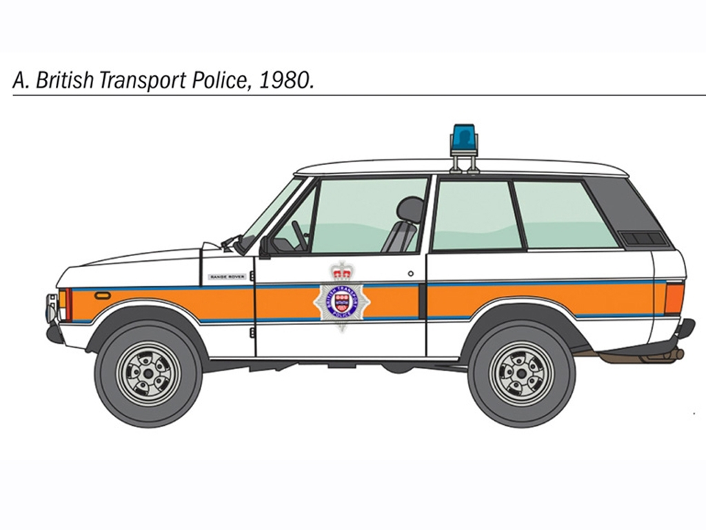 Police Range Rover  (Vista 4)