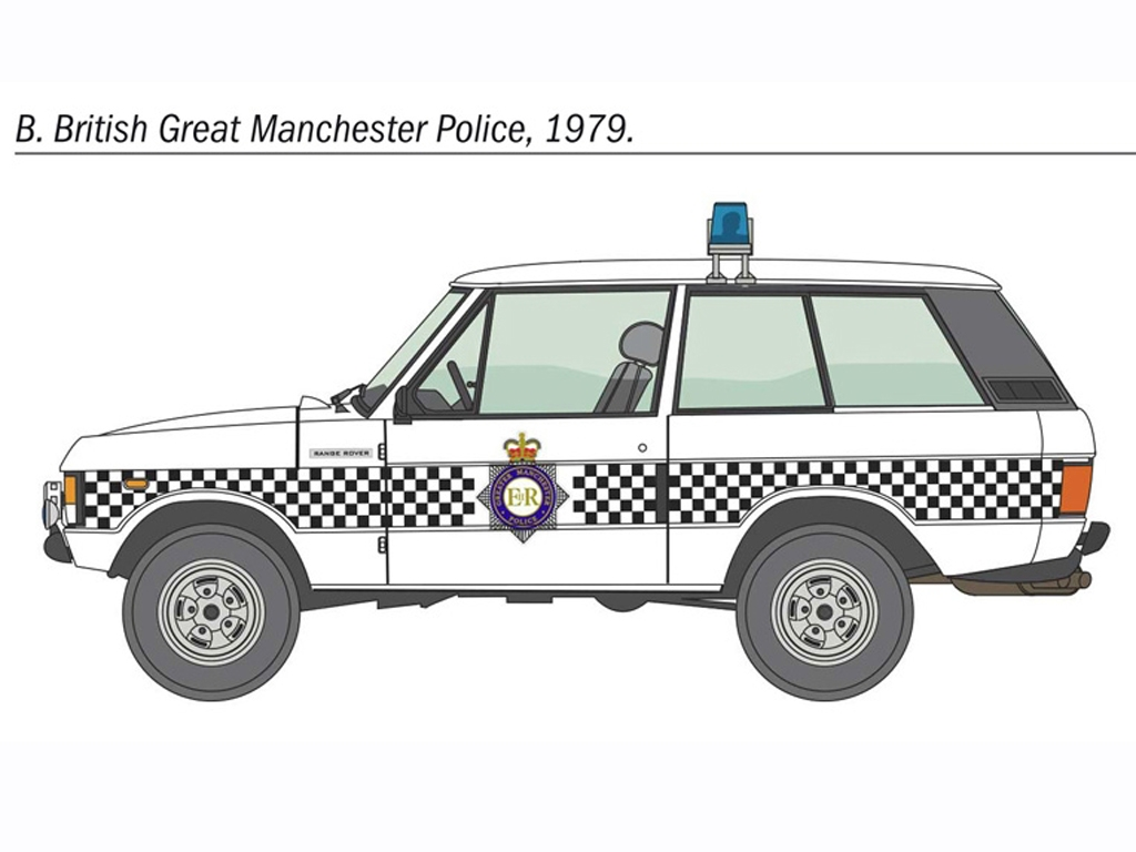 Police Range Rover  (Vista 5)