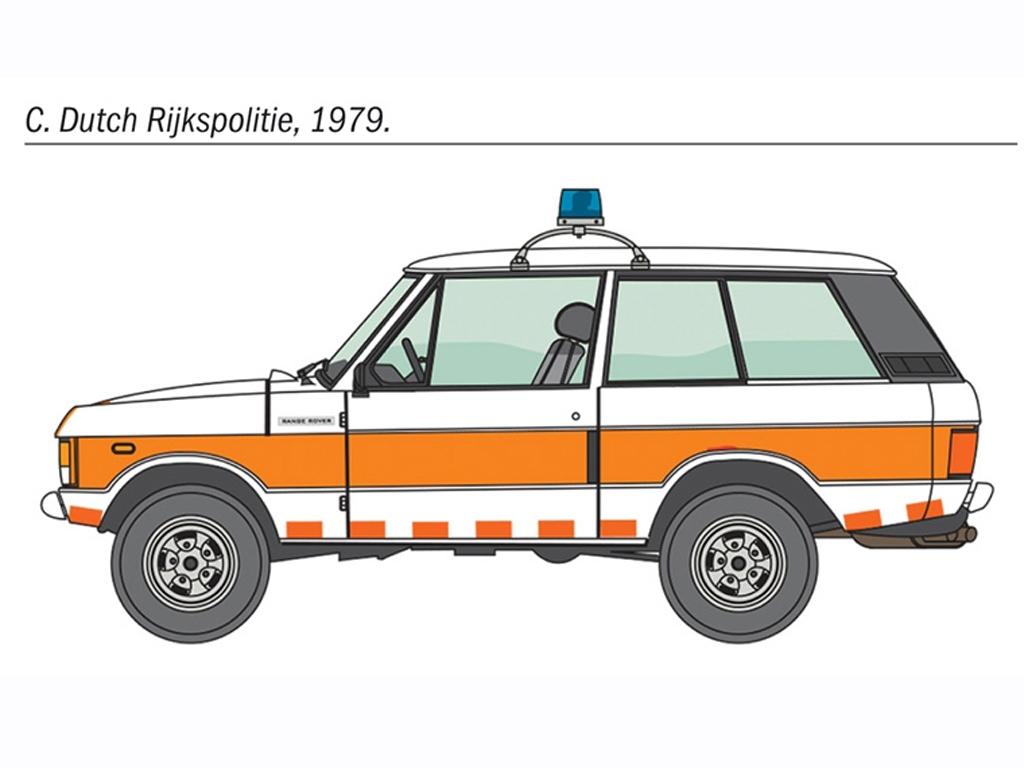 Police Range Rover  (Vista 6)