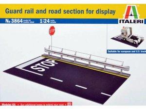 Guardarail y la sección de carretera  (Vista 1)