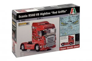 Scania R560 V8 Highline  Red Griffin  (Vista 1)