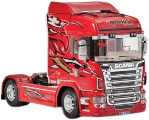 Scania R560 V8 Highline  Red Griffin  (Vista 2)