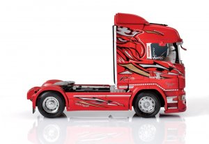 Scania R560 V8 Highline  Red Griffin  (Vista 4)