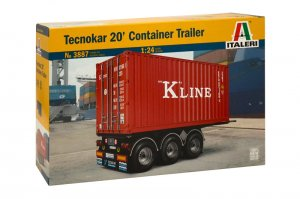 Tecnokar 20' Container Trailer  (Vista 1)