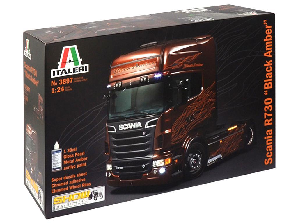Scania R730 ''Black Amber''  (Vista 1)