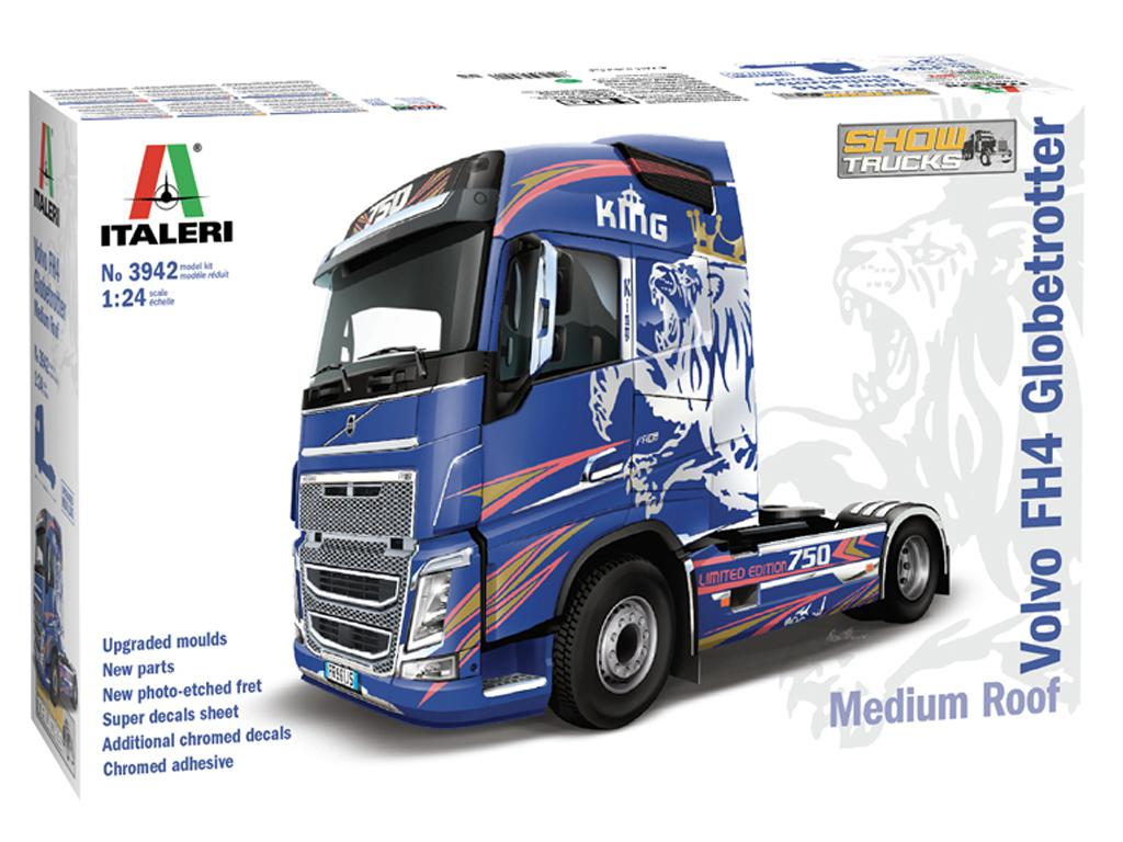 Volvo FH4 Globetrotter Techo mediano