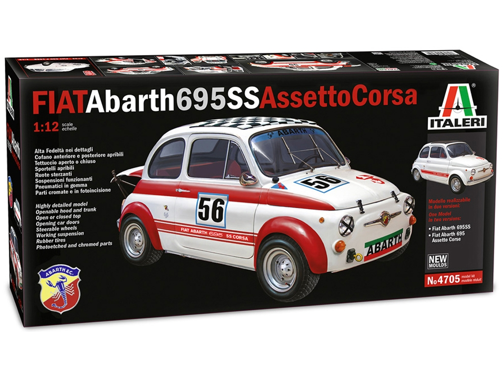 Fiat Abarth 695 SS  (Vista 1)
