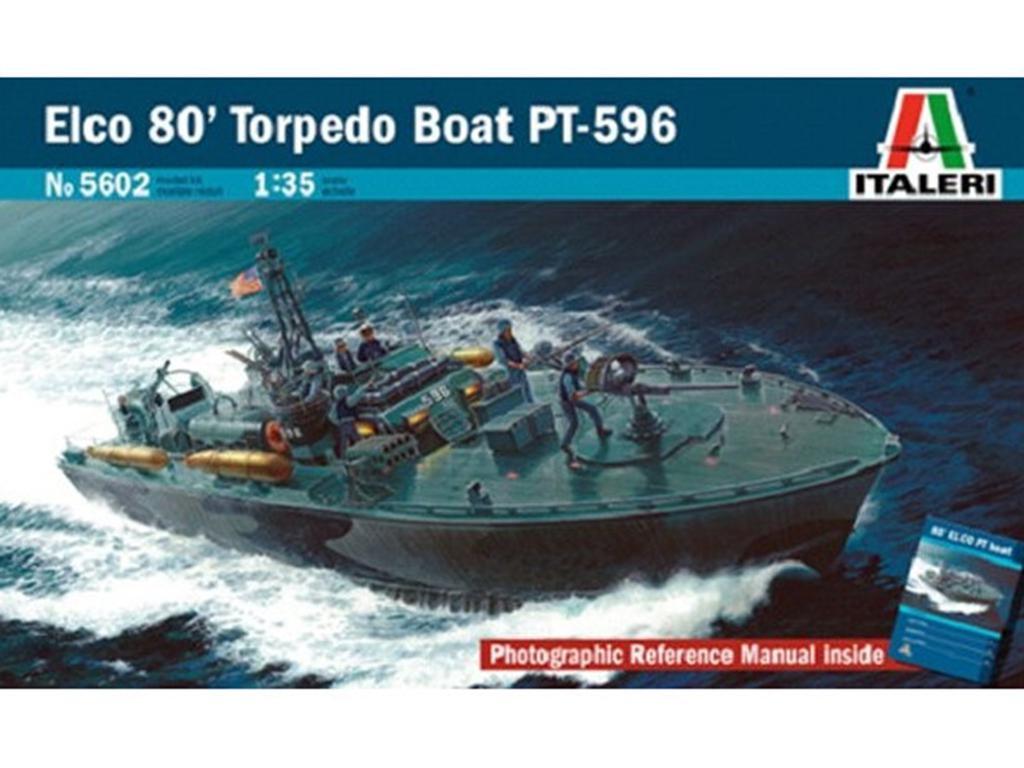Torpedera USA Elco 80' PT-596 - Ref.: ITAL-05602