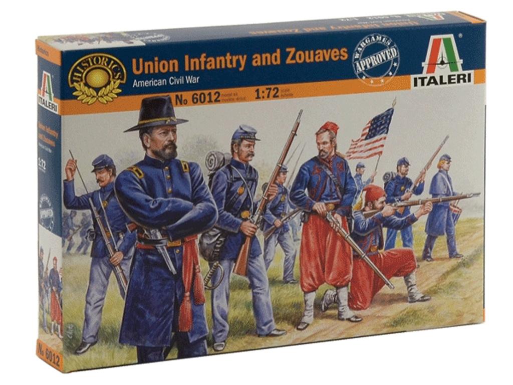 Infanteria de la Union, Guerra Civil  Am  (Vista 1)