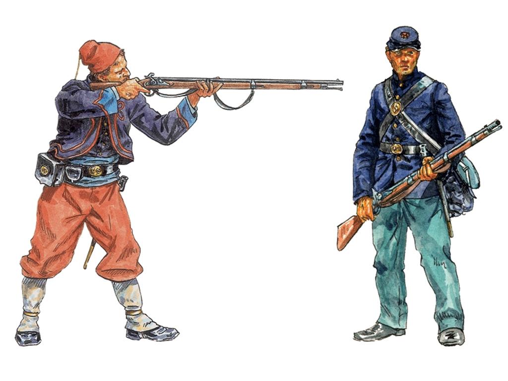 Infanteria de la Union, Guerra Civil  Am  (Vista 2)