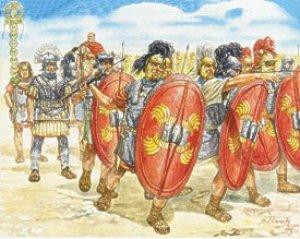 Infanteria Romana Siglos I Y II  (Vista 1)