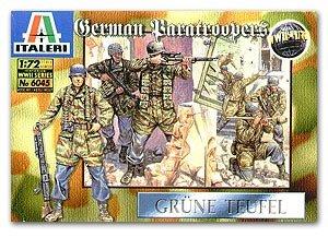 Paracaidistas Alemenes, II Guerra Mundia  (Vista 1)