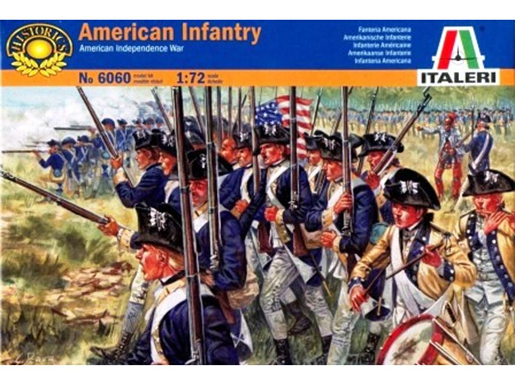 Infanteria Americana, Guerra Independenc  (Vista 1)
