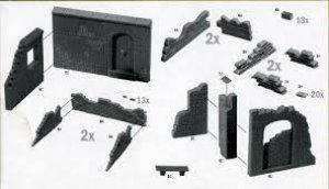 Paredes y Ruinas II  (Vista 2)