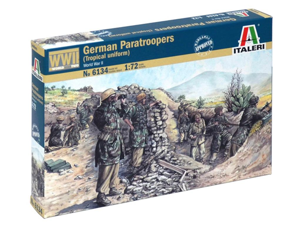 Paracaidistas Alemanes - Ref.: ITAL-06134