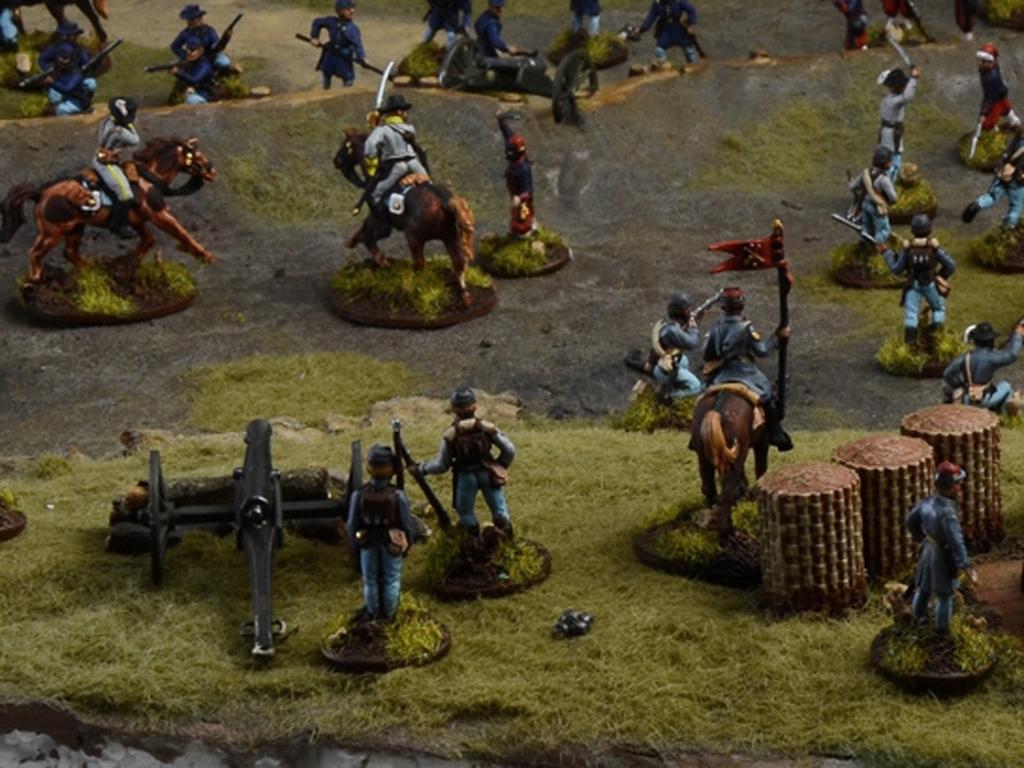 Batalla de granjas - Guerra Civil Americ  (Vista 2)