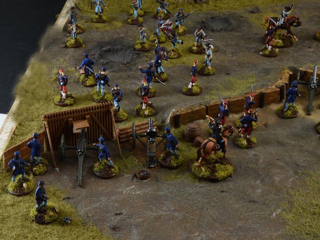 Batalla de granjas - Guerra Civil Americ  (Vista 3)