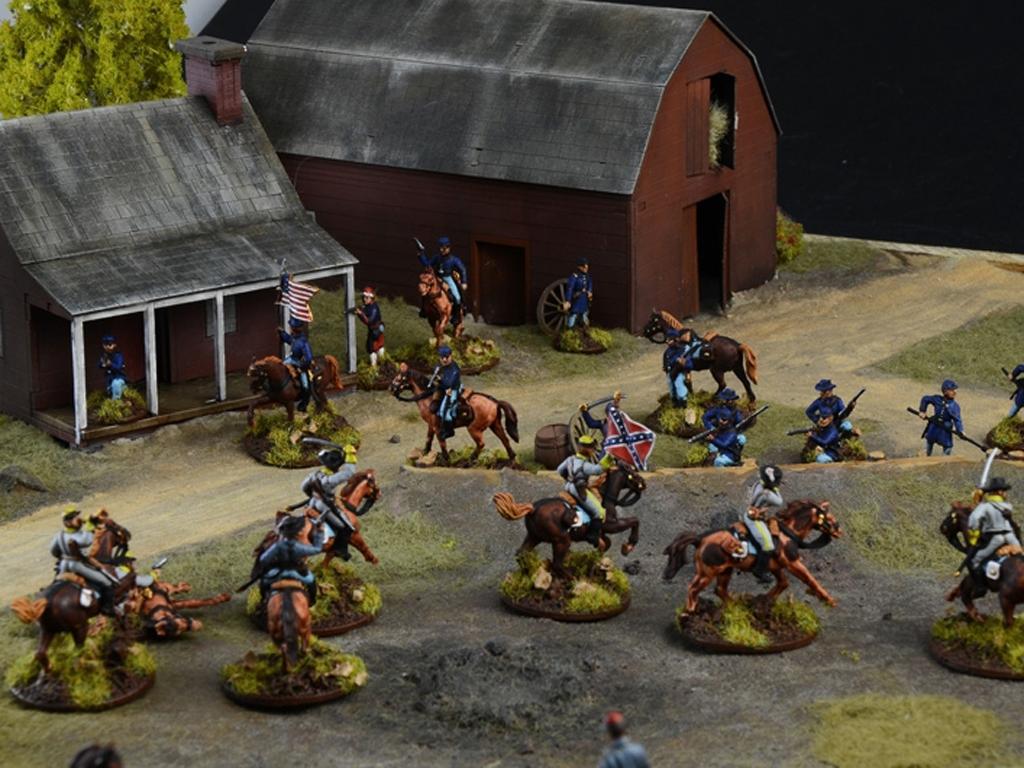 Batalla de granjas - Guerra Civil Americ  (Vista 5)